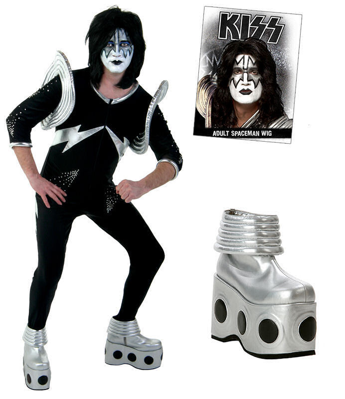 kostým KISS - Authentic Spaceman Rock The Nation Costume - WKIS7203