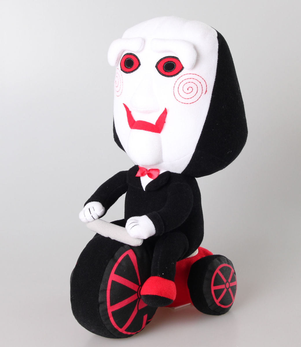plyšová hračka Saw - Billy The Puppet & Tricycle - 55415