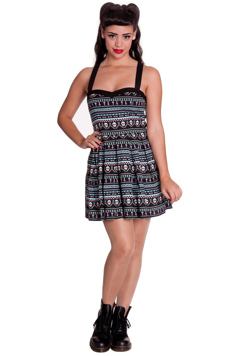 šaty dámské HELL BUNNY - Inca Mini - 4311 L