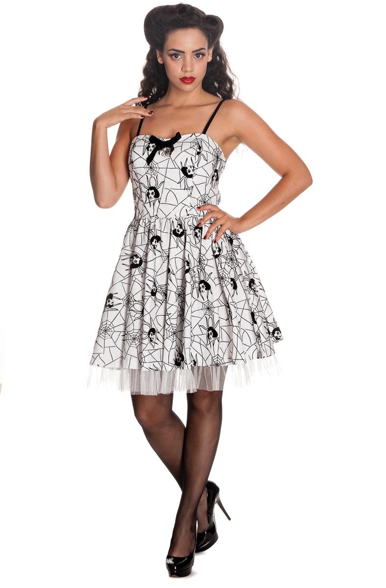 6510772a34fb šaty dámské HELL BUNNY - Mary Jane - WHT - 4288 - metalshop.cz
