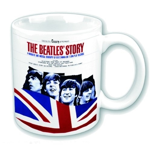 hrnek The Beatles - The Beatles Story - ROCK OFF - BEATMUG27