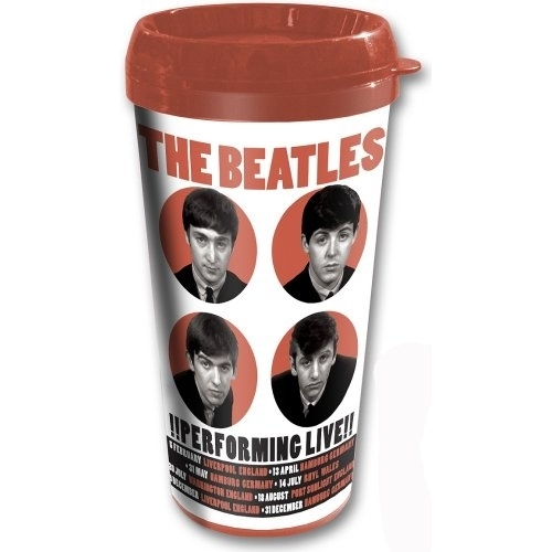 hrnek termo The Beatles - Performing Live - ROCK OFF - BEAT62TRAVMUG02