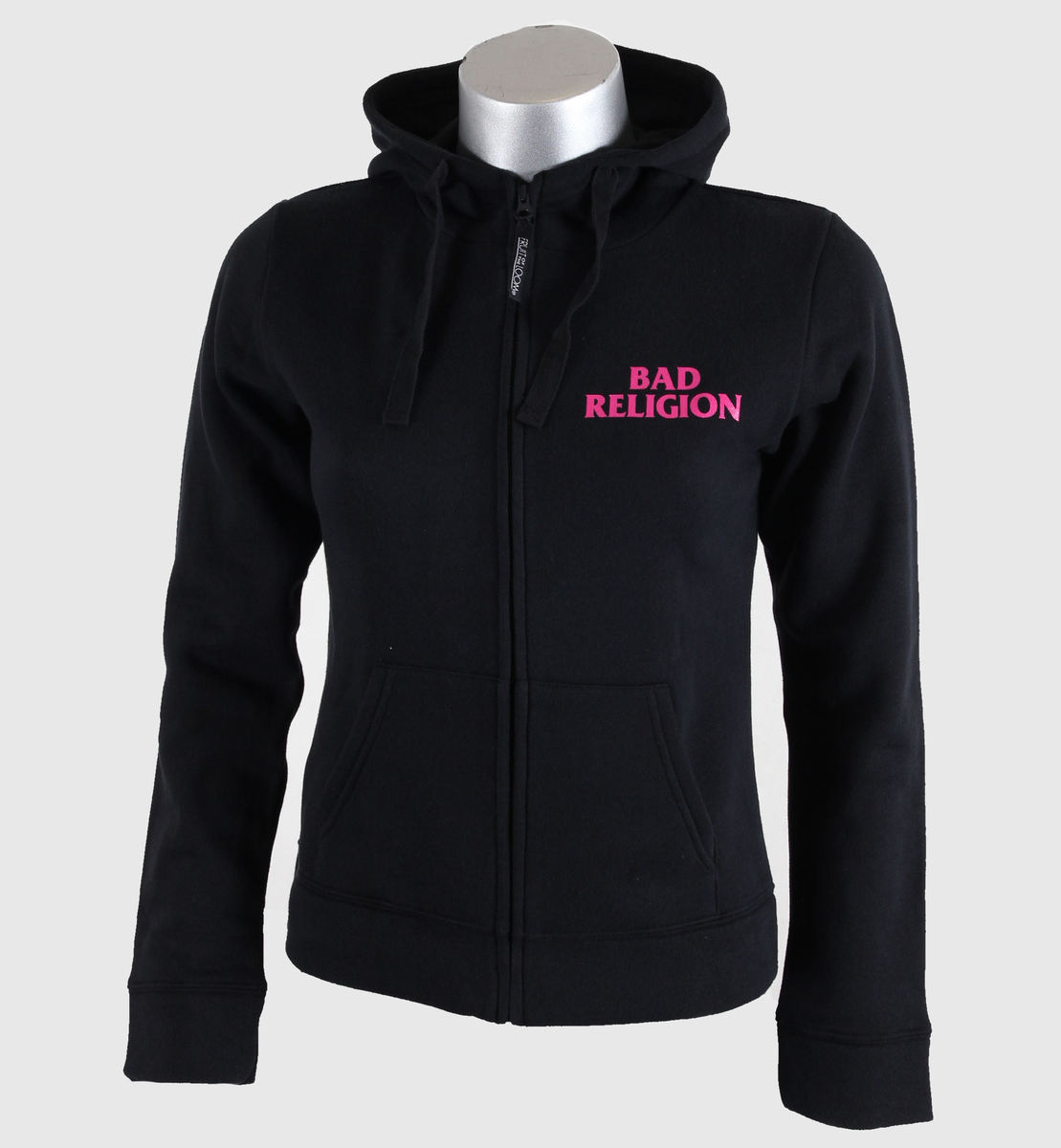 mikina dámská Bad Religion - Hot Pink - Black - KINGS ROAD - 00591