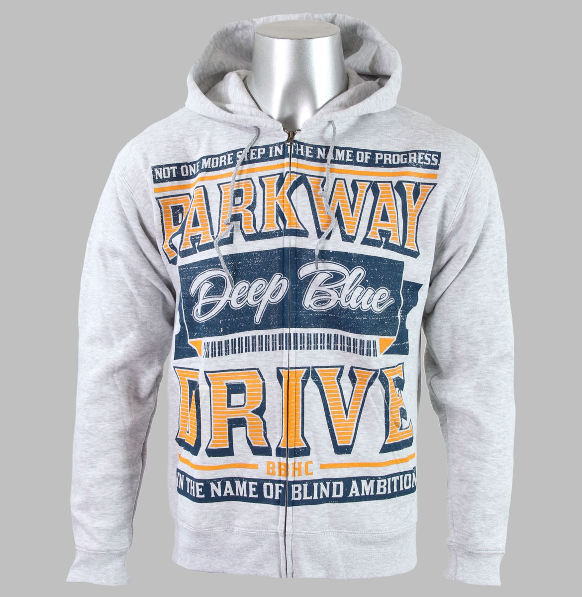 mikina pánská Parkway Drive - Sign - Heather Gray - KINGS ROAD - 1763