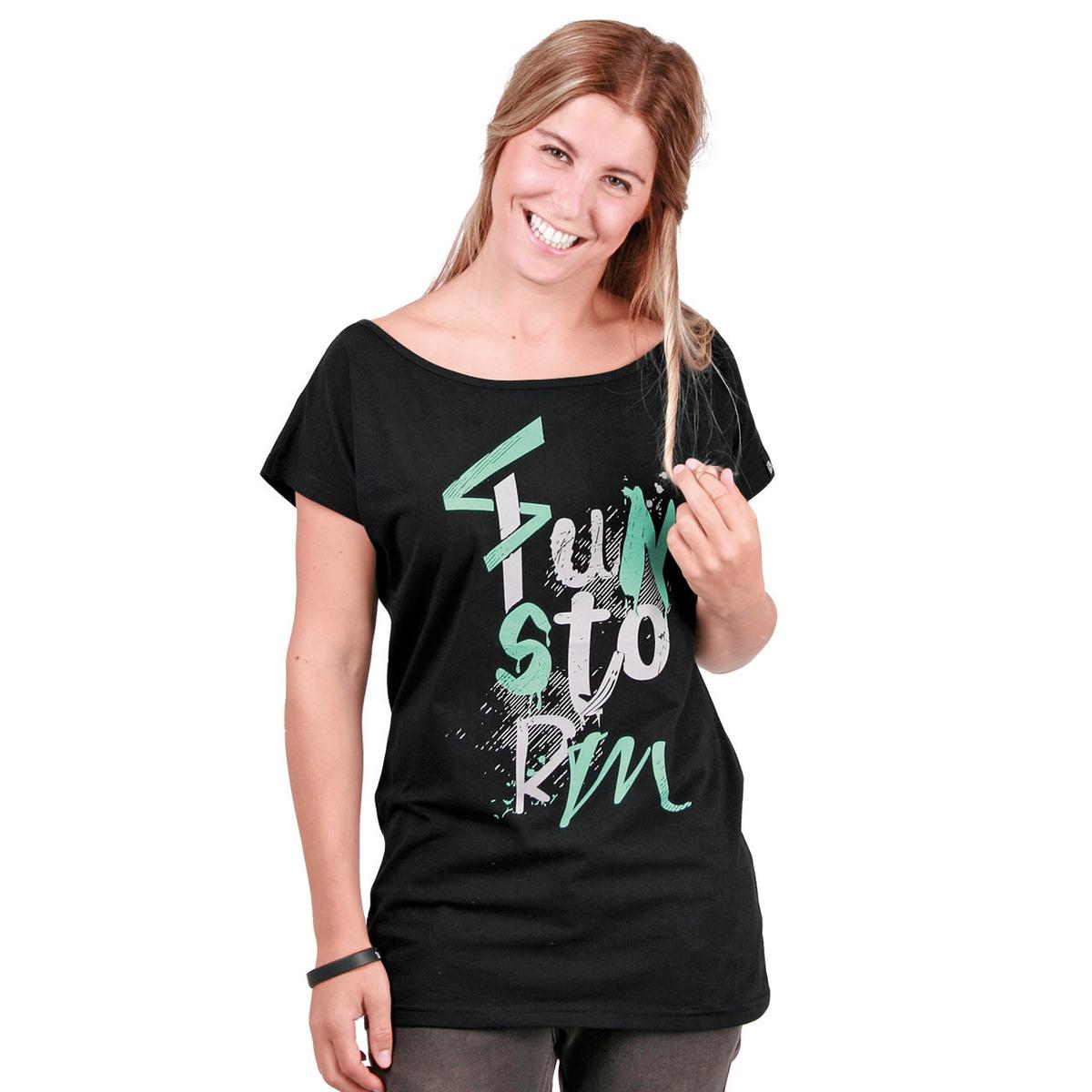 tričko dámské FUNSTORM - Arvada Top - 21 BLACK