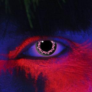 kontaktní čočka PINK BUTTERFLY UV - EDIT - 83037