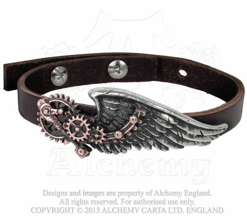 náramek The Black Baron Technician´s Wings - ALCHEMY GOTHIC - A100