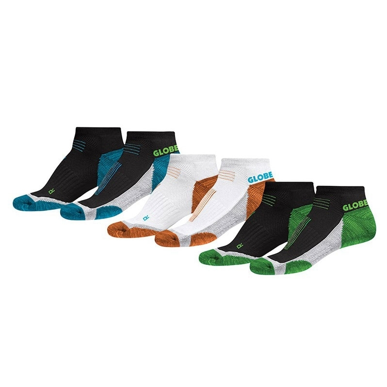 ponožky GLOBE - LEFT AND RIGHT SOCK 3 PACK - Assorted