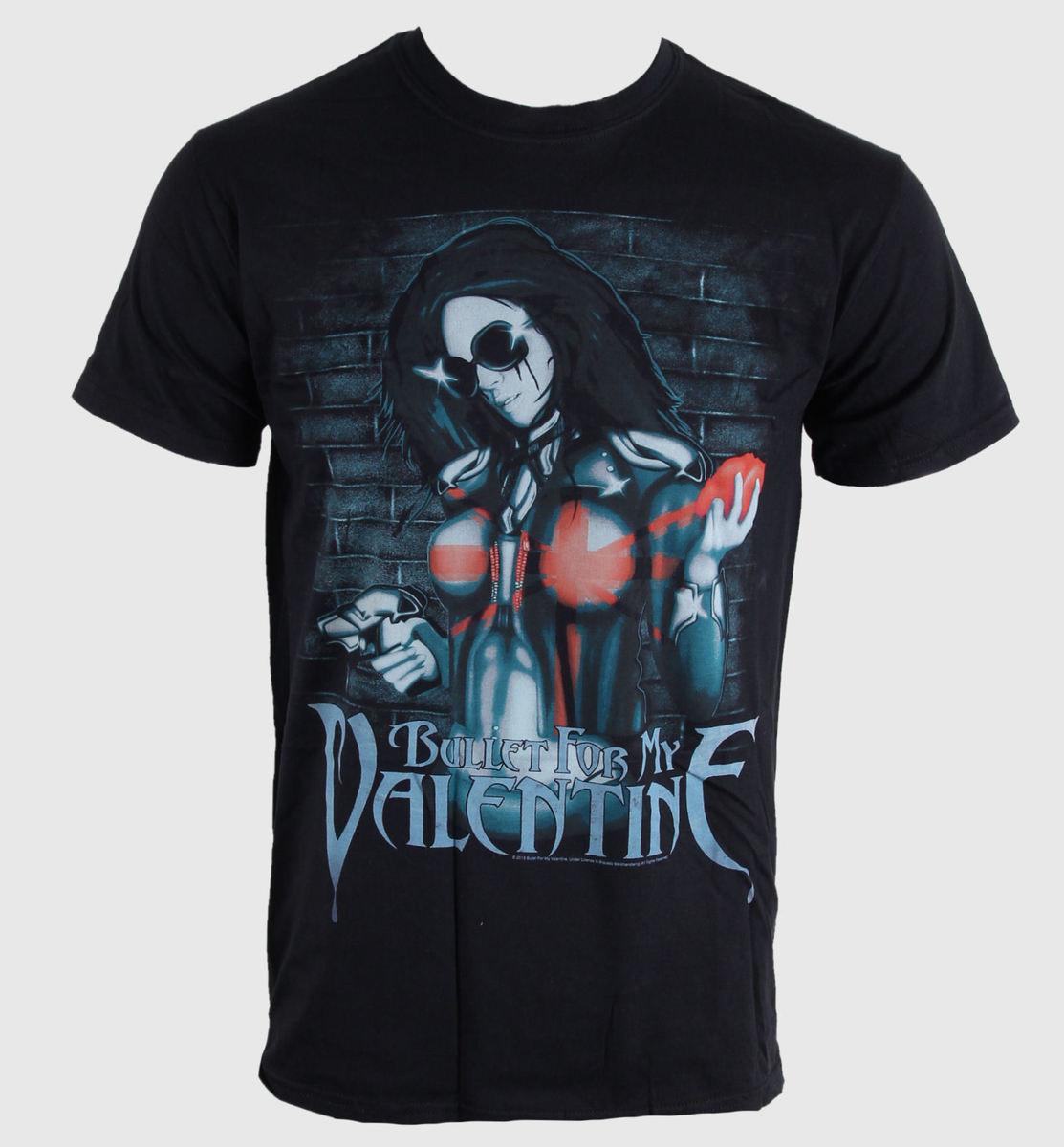 tričko pánské Bullet For My Valentine - Armed - Blk - BRAVADO EU - BFMVTS04MB
