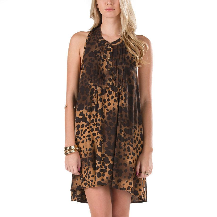 šaty dámské VANS - G LANA - Biscuit - VVXXCQ9 L