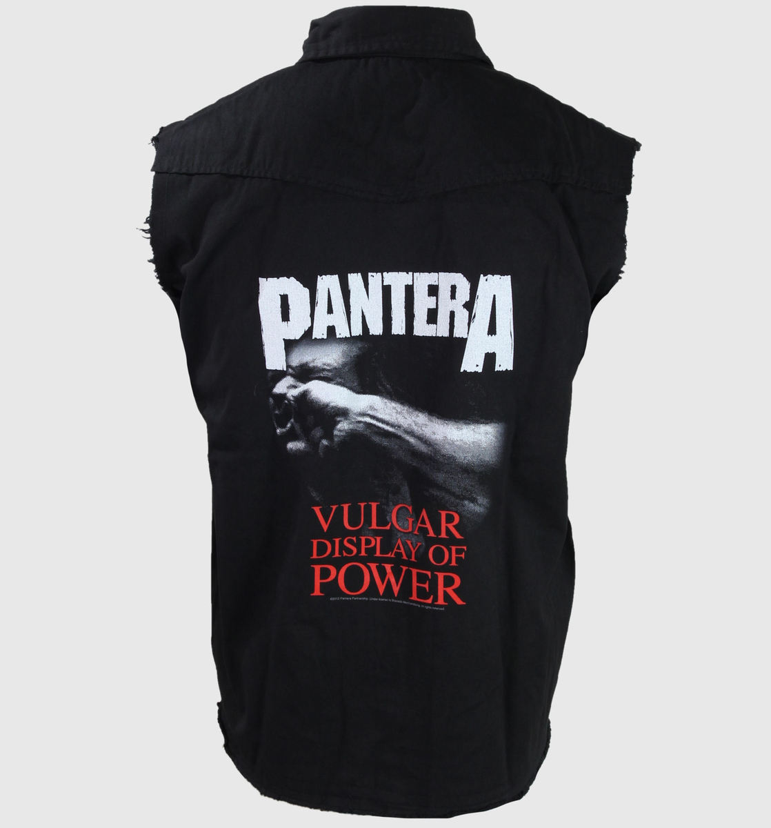 vesta pánské Pantera - Vulgar Display Of Power - RAZAMATAZ - WS061