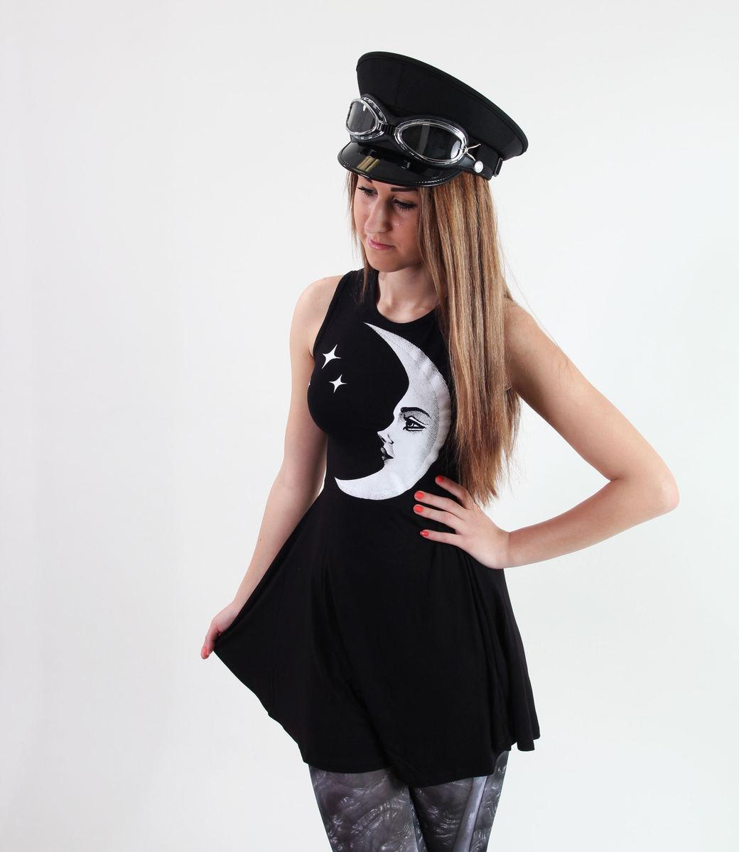šaty dámské KILLSTAR - Moonchild - Black - KIL231 L