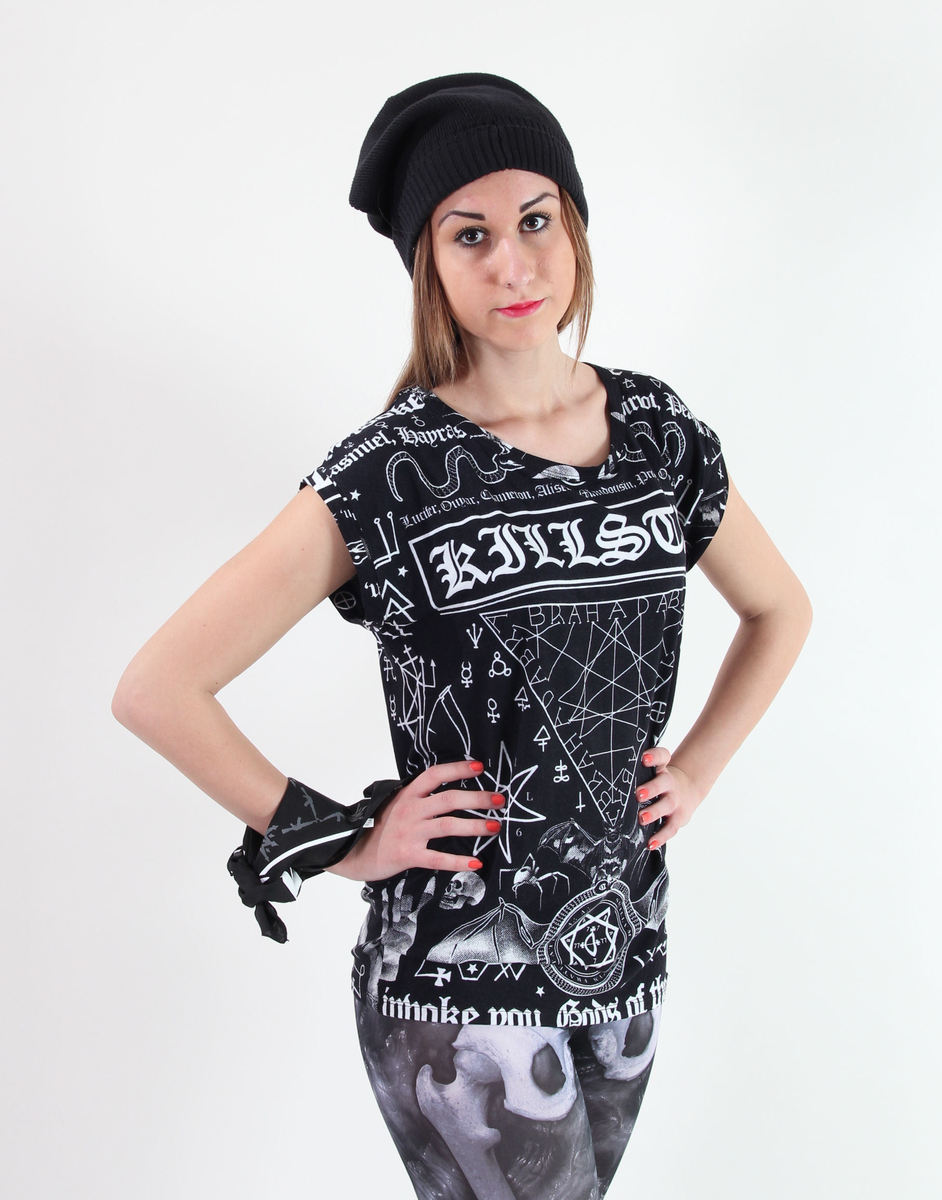 tričko dámské (tunika) KILLSTAR - Spell - Black