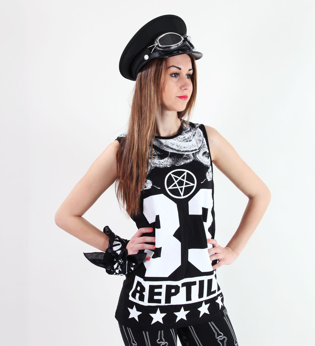 tílko KILLSTAR - Reptile - Black