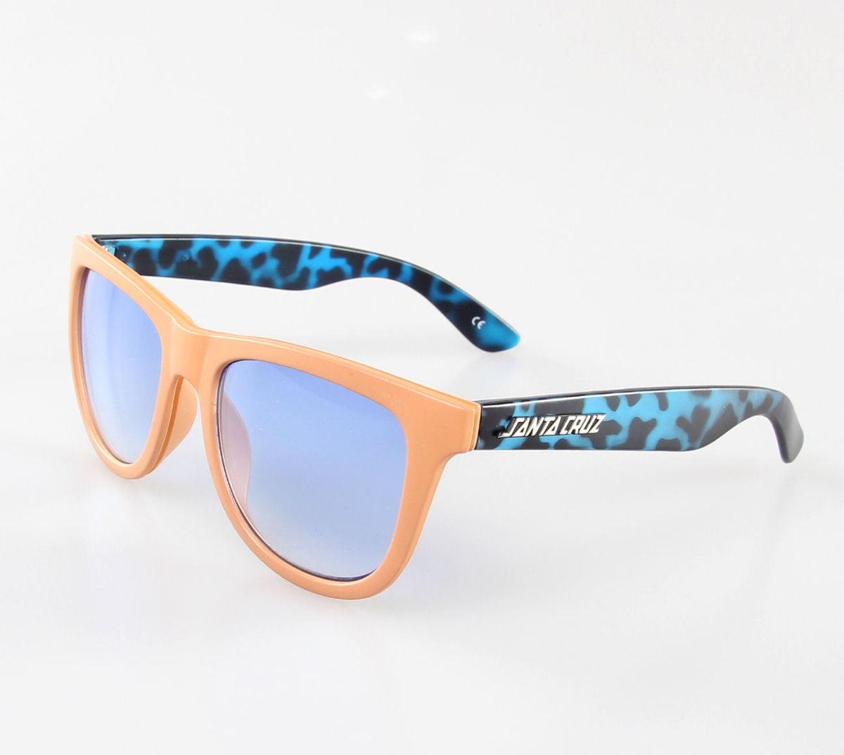 brýle sluneční SANTA CRUZ - KICKBACK SHADES - BLUE TORTOISESHELL - MAMKI