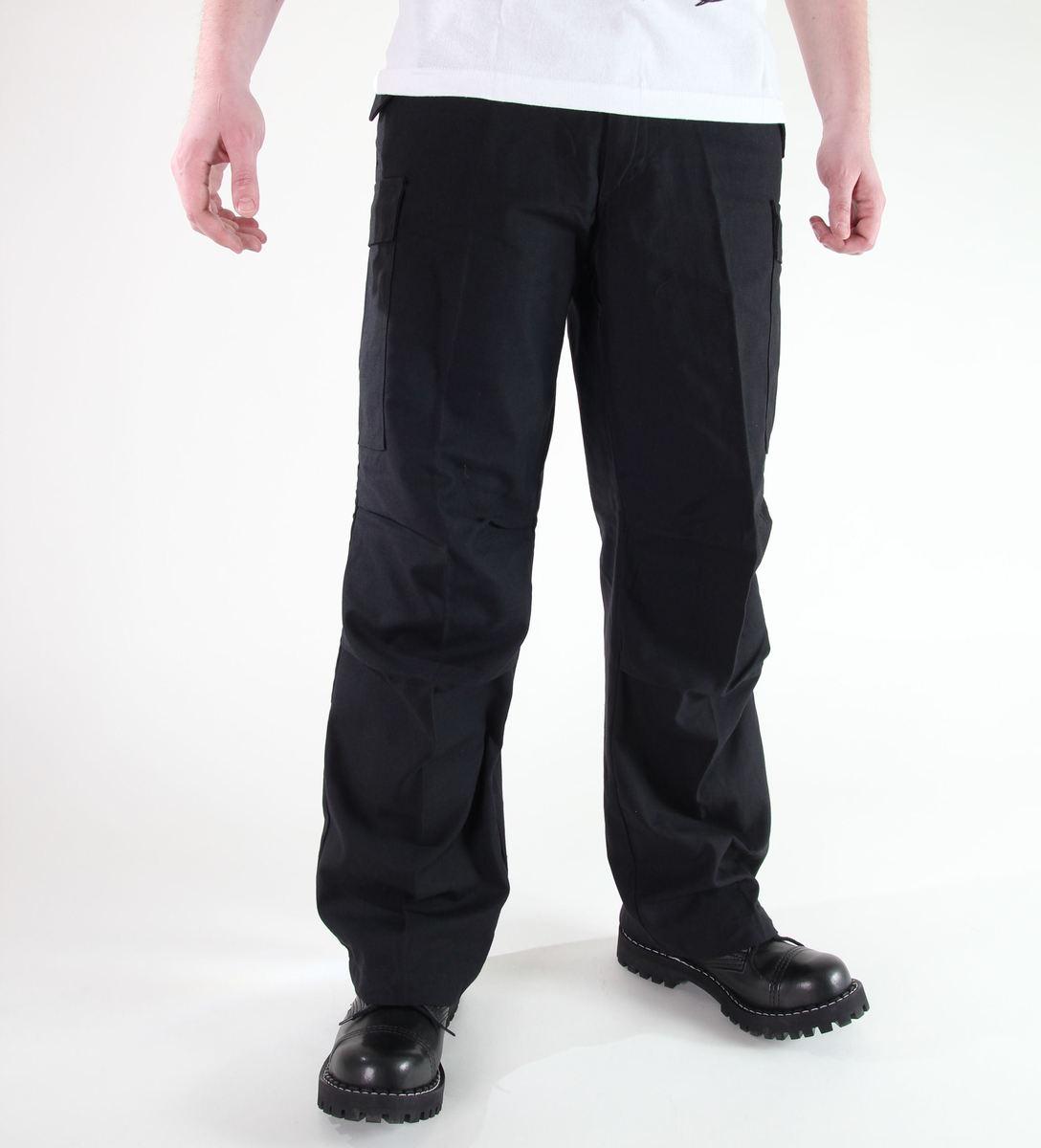 kalhoty pánské MIL-TEC - US Feldhose - M65 - Nyco Black - 11501002