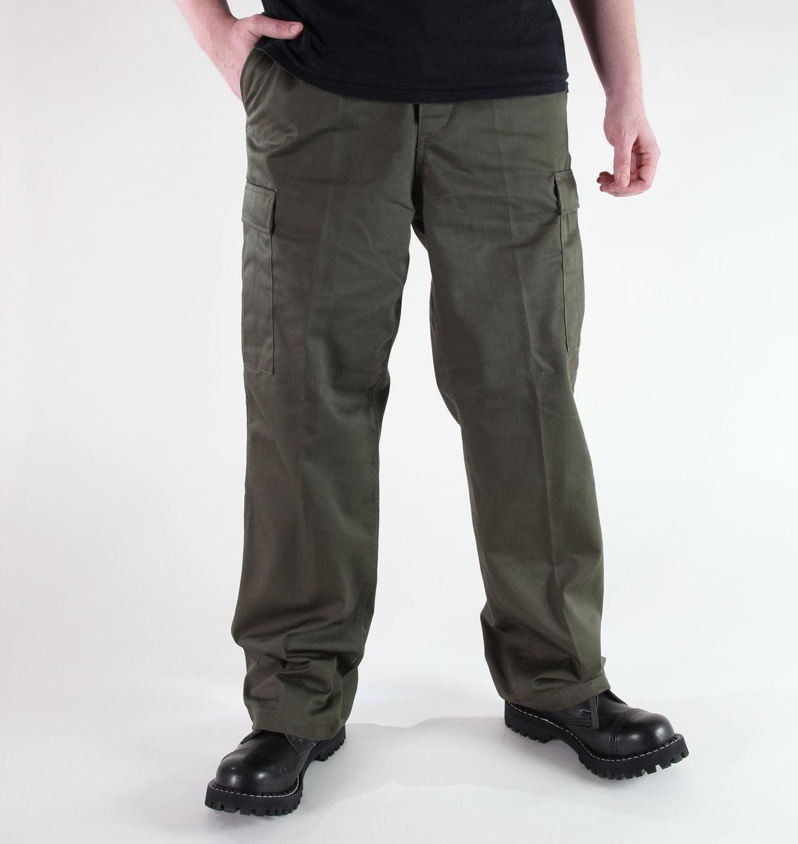 kalhoty pánské MIL-TEC - US Ranger Hose - Oliv - 11810001