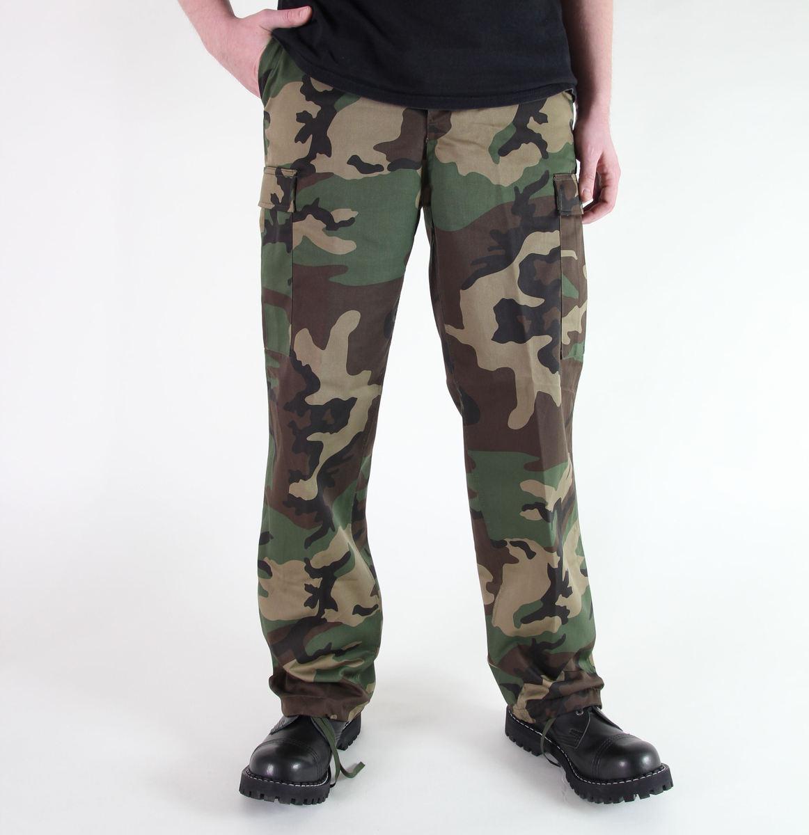 kalhoty pánské MIL-TEC - US Ranger Hose - Woodland - 11810020