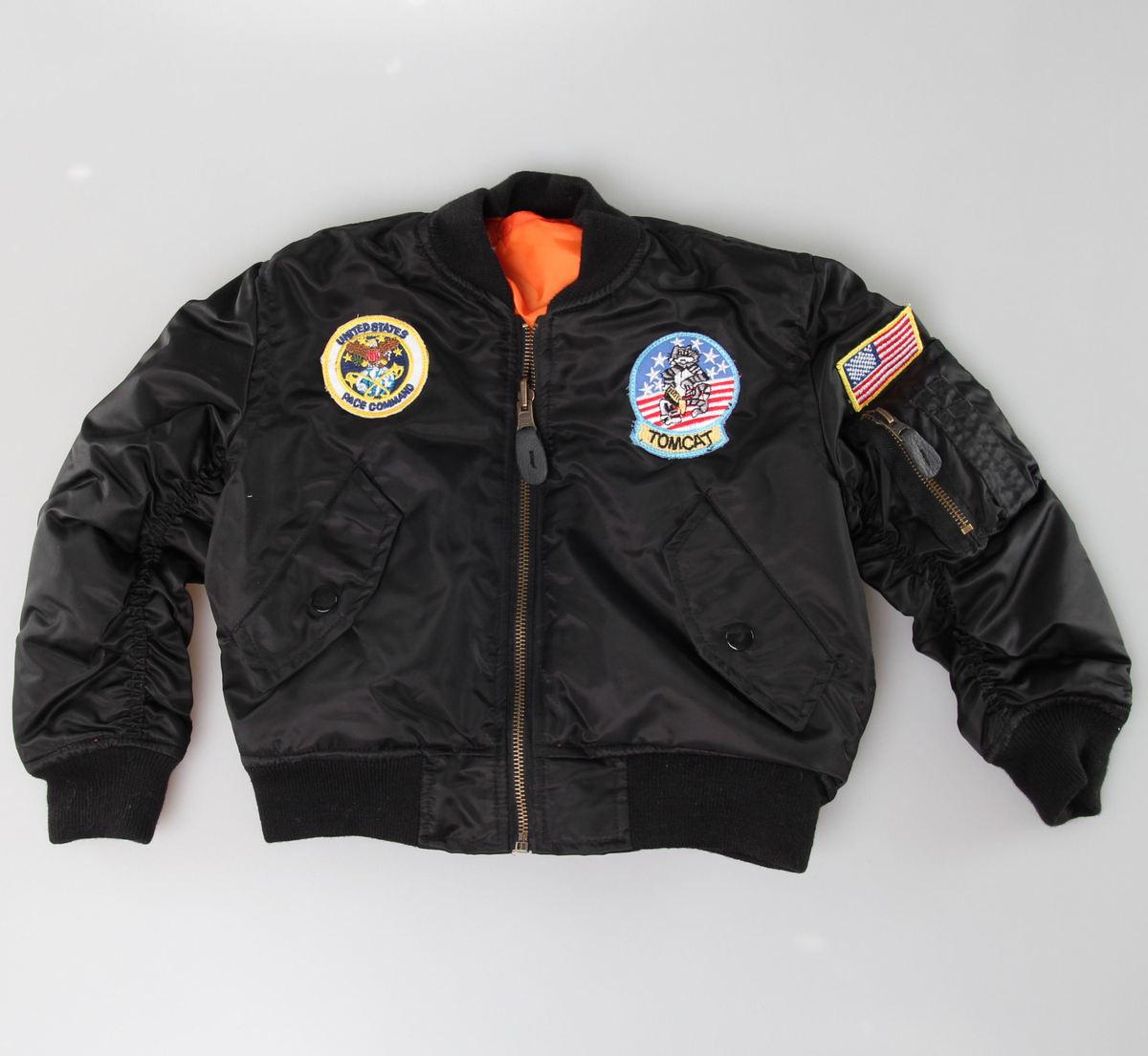 bunda dětská MIL-TEC - Flieger Jacke - Black - 12003502