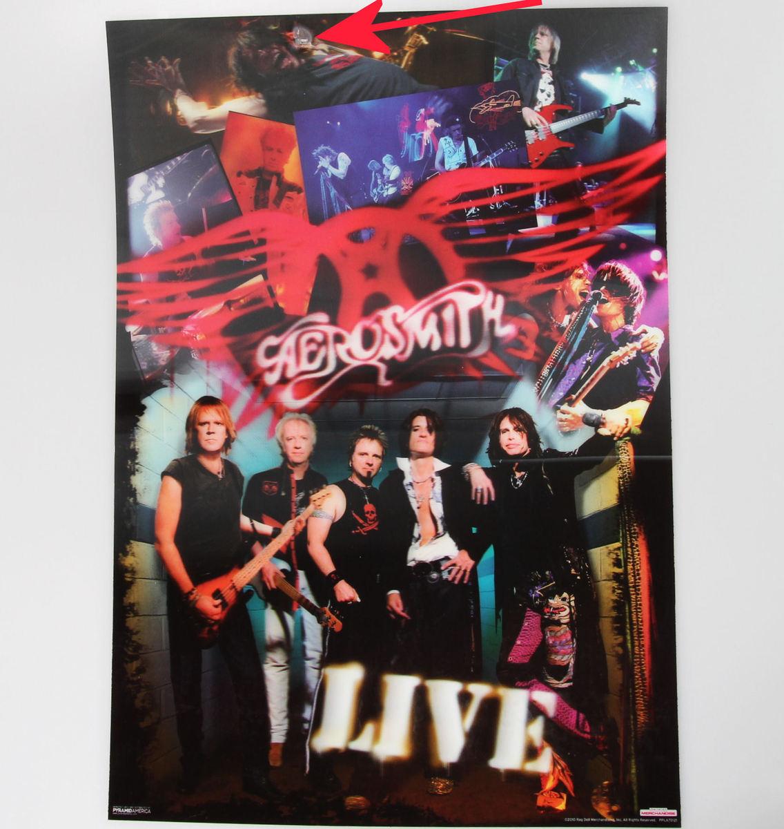 obraz 3D Aerosmith - Pyramid Posters - PPLA70121 - POŠKOZENÝ