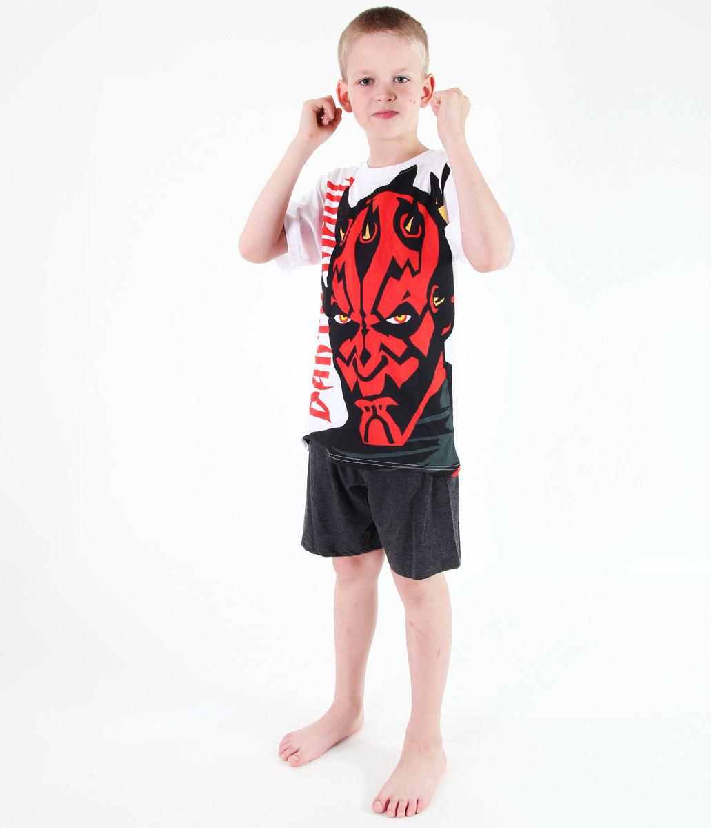 pyžamo chlapecké TV MANIA - Star Wars Clone - White - CLON 818 10/140