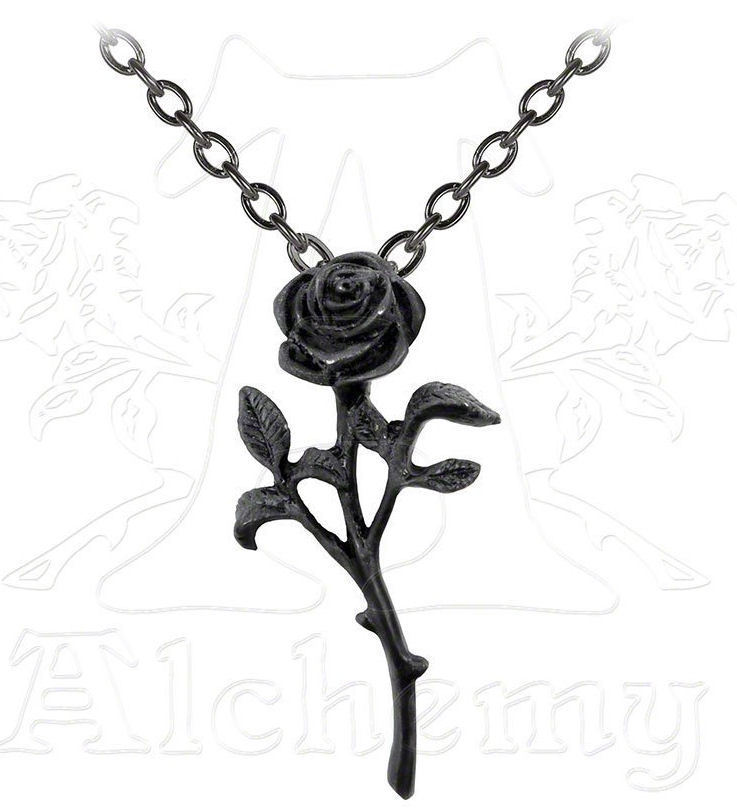 obojek The Romance Of The Black Rose - ALCHEMY GOTHIC - P695