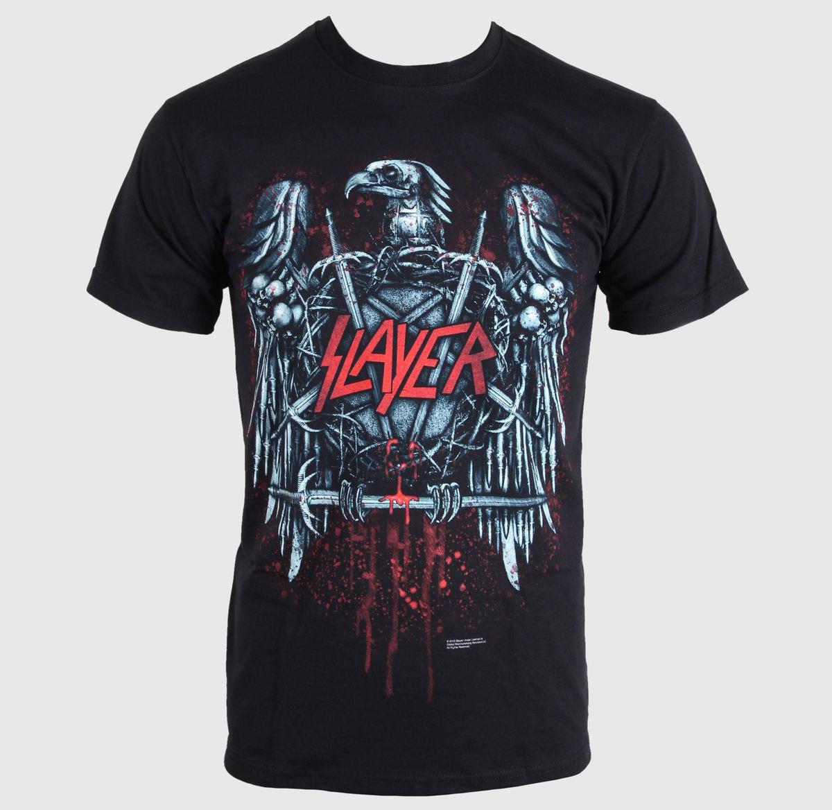 ROCK OFF Slayer Ammunition Eagle černá