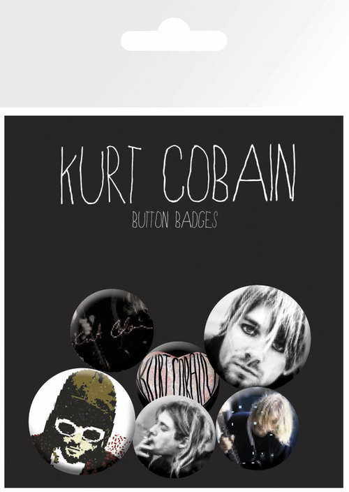 placky Kurt Cobain