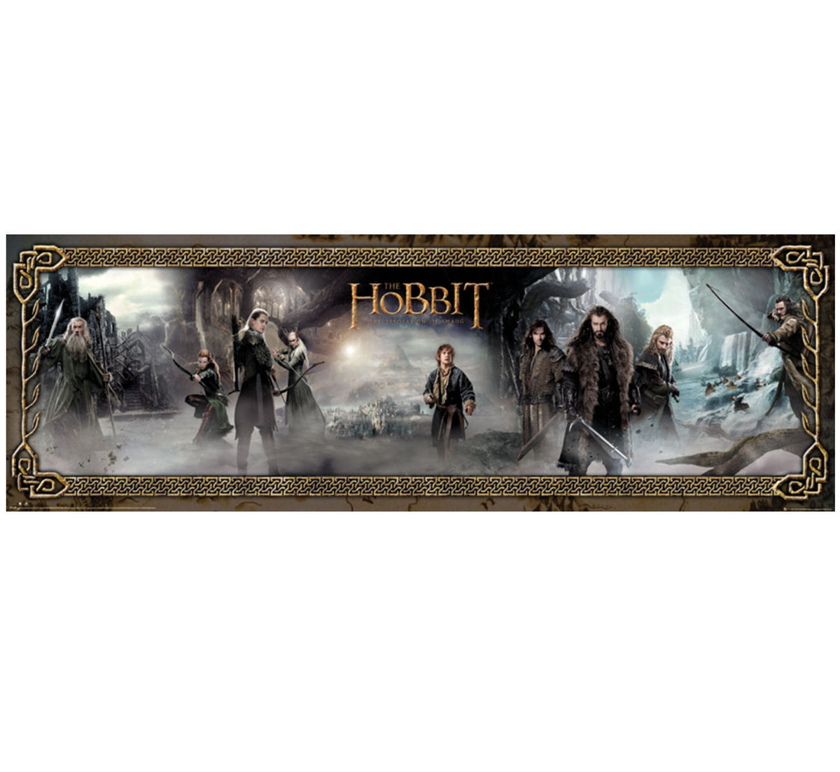 plakát The Hobbit - Desolation of Smaug Mist - GB posters - DP0458
