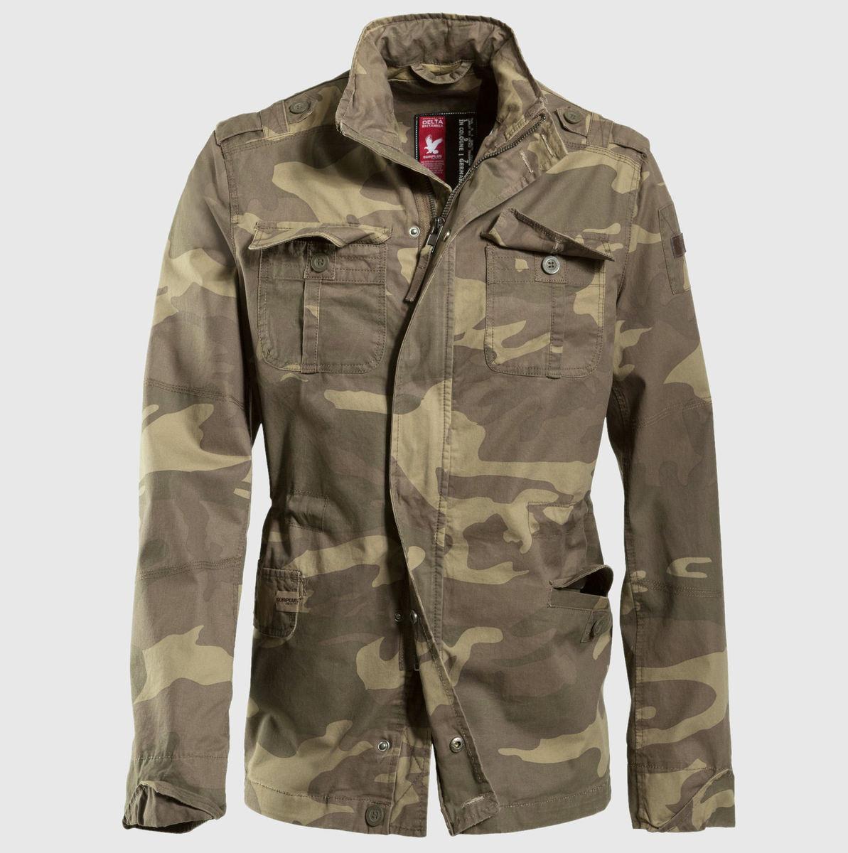 bunda pánská jarně-podzimní SURPLUS - Delta Britannia - Woodland Gewas - 20-3527-62