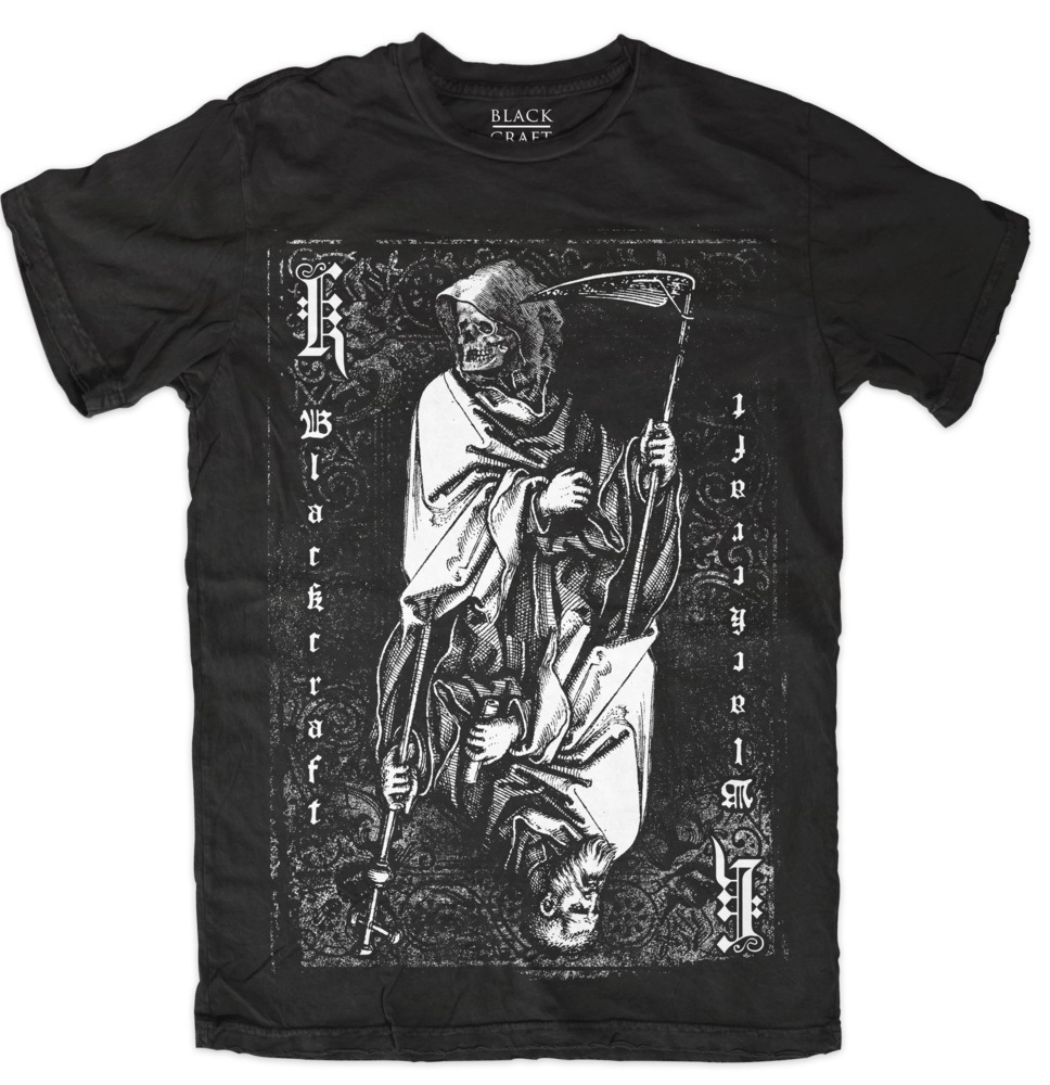 tričko pánské BLACK CRAFT - Death To Gods - Black - MT088DS