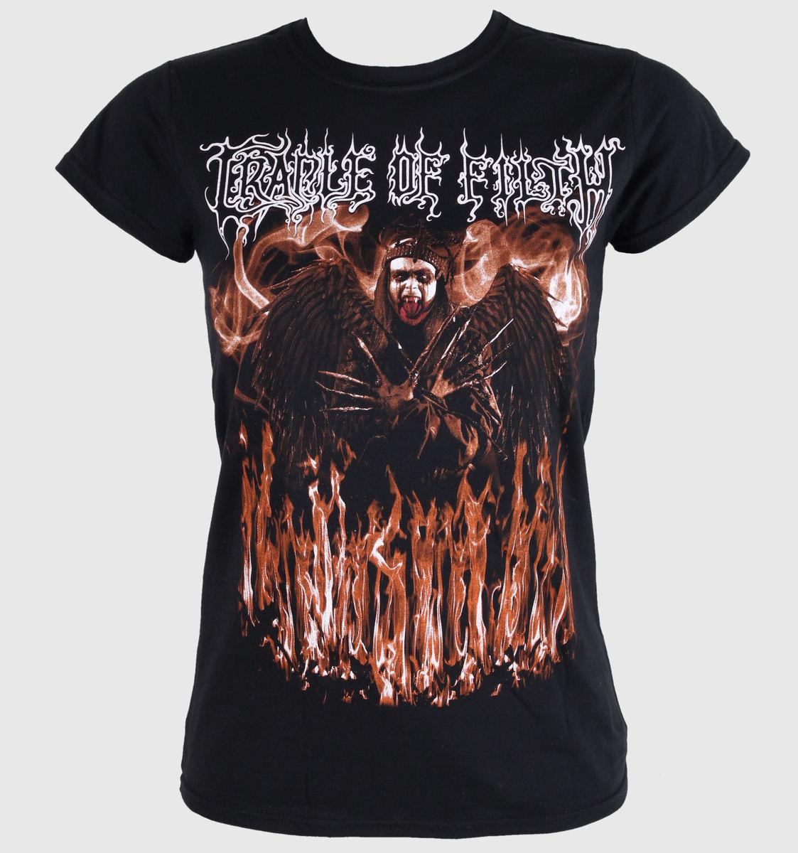 tričko dámské CRADLE OF FILTH - DEVILS CONCUBINE - BLACK - LIVE NATION - PE11144SKBP