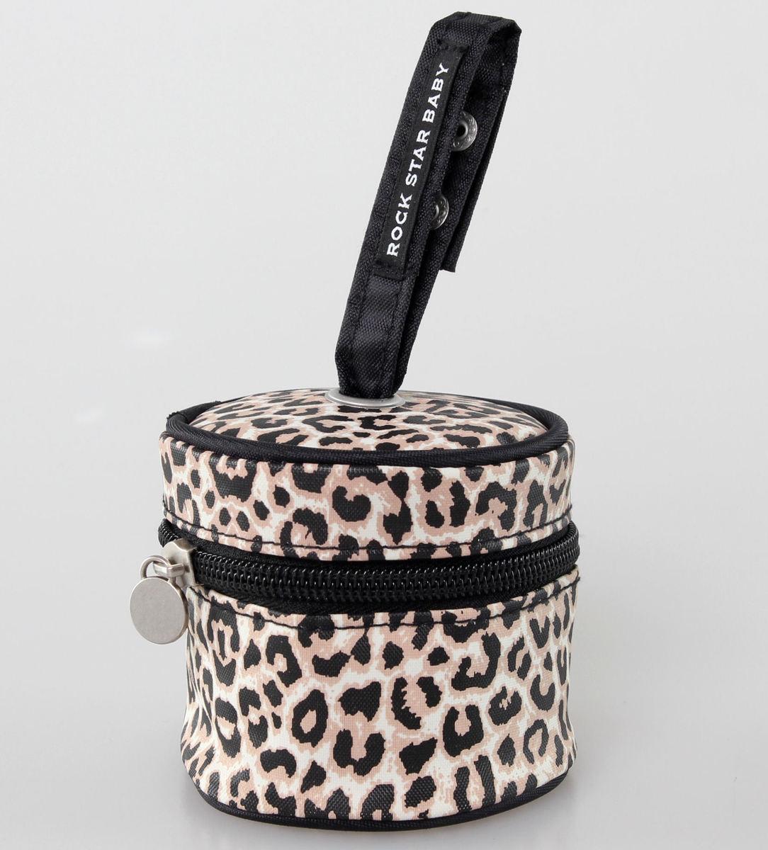 taštička na dudlík ROCK STAR BABY - Leopard - 90099