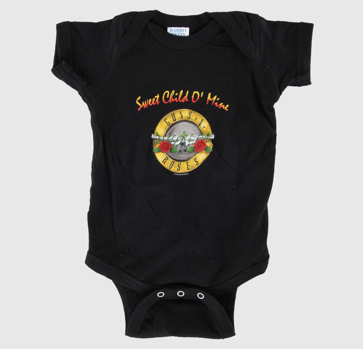 body dětské Guns N' Roses - Sweet Child - Black - BRAVADO - GNR2001