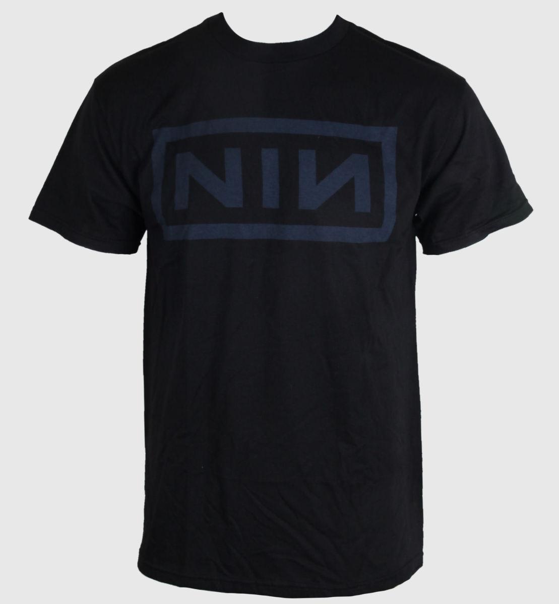 tričko pánské Nine Inch Nails - Navy - Black - BRAVADO - NIN1024