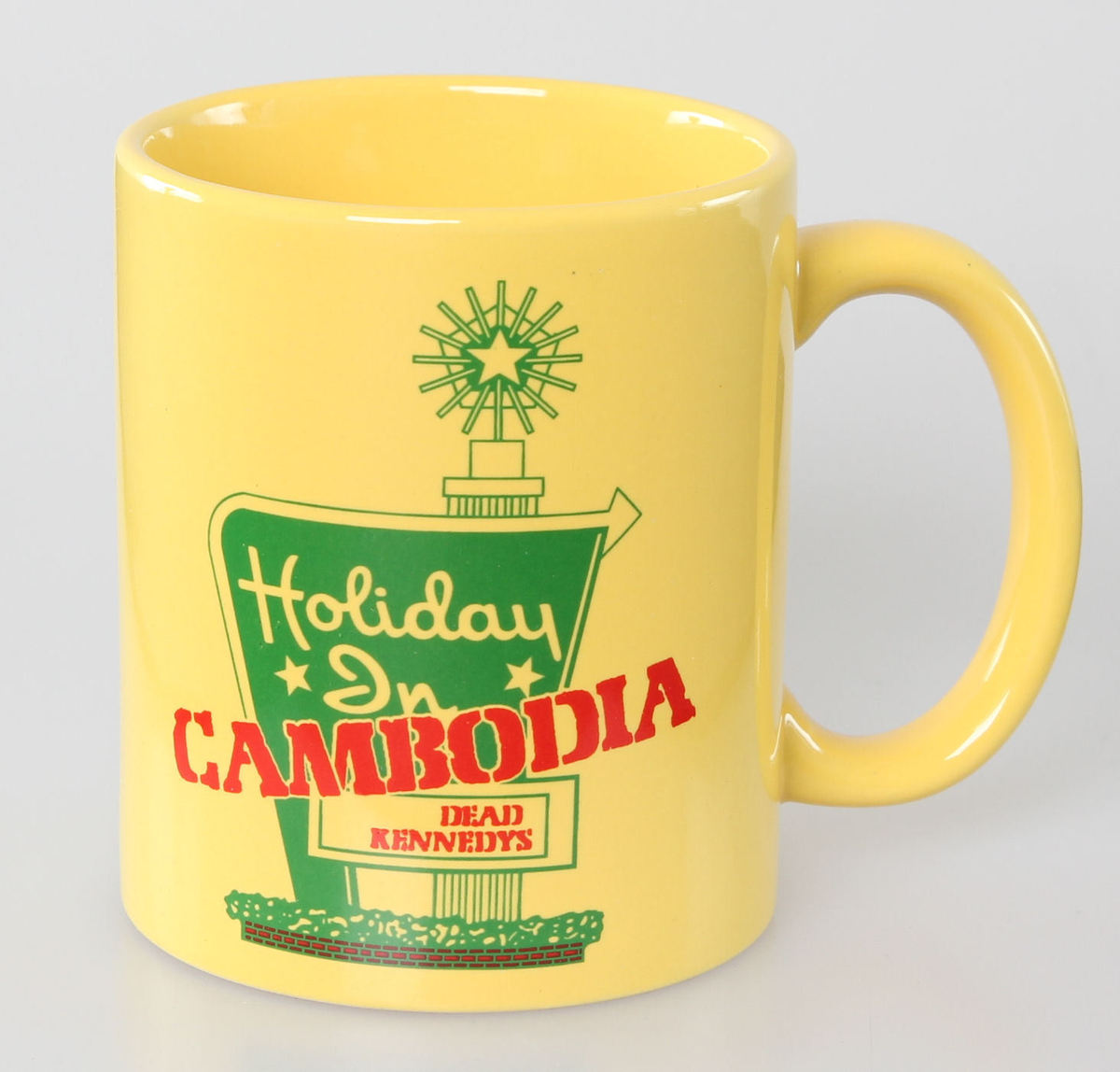 hrnek Dead Kennedys - Holiday in Cambodia - ROCK OFF - DKMUG02