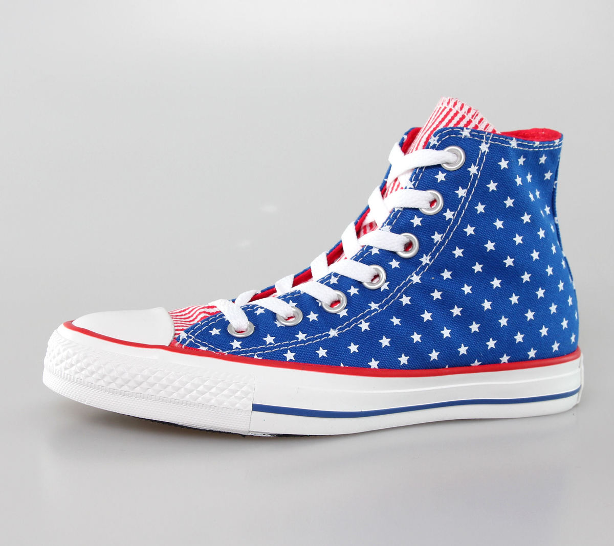 boty CONVERSE - Chuck Taylor All Star - Blue/White/Red - C144826F