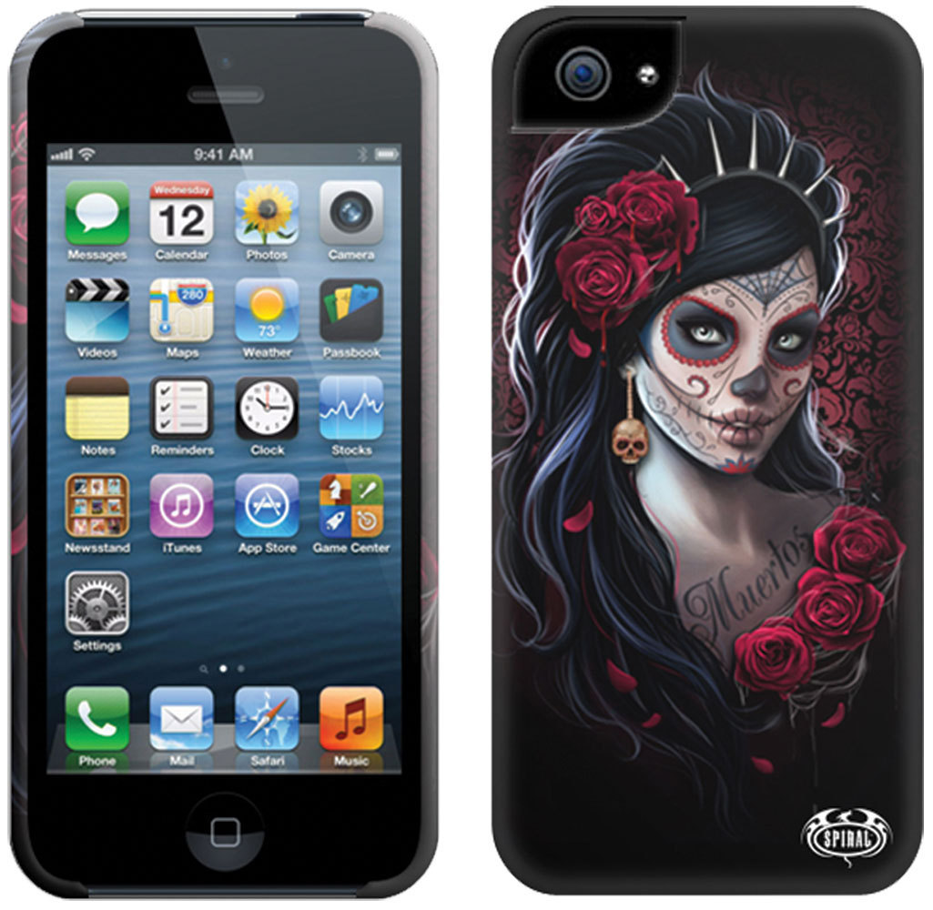 kryt na mobil SPIRAL - DAY OF THE DEAD - Iphone - DW205574