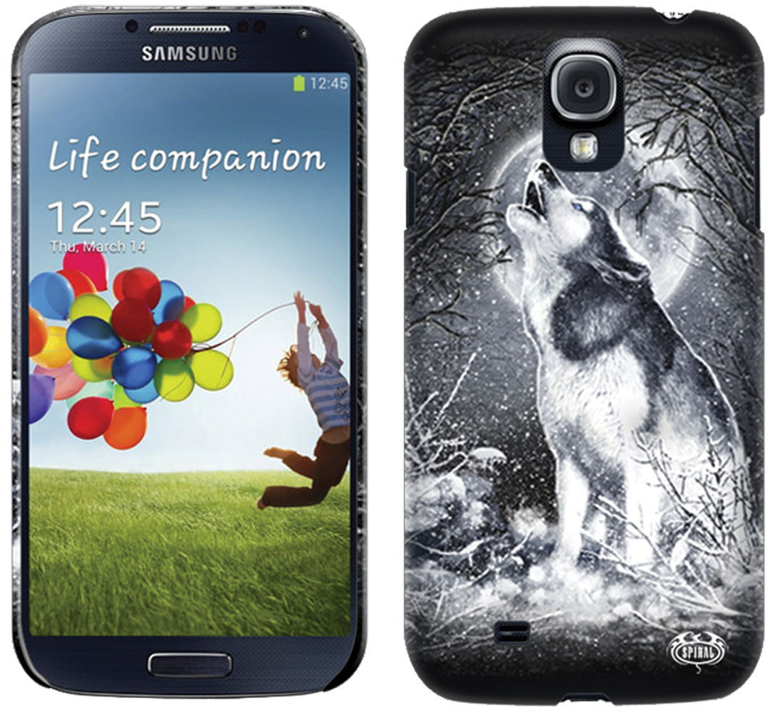 kryt na mobil SPIRAL - WHITE WOLF - SAMSUNG - TR324575