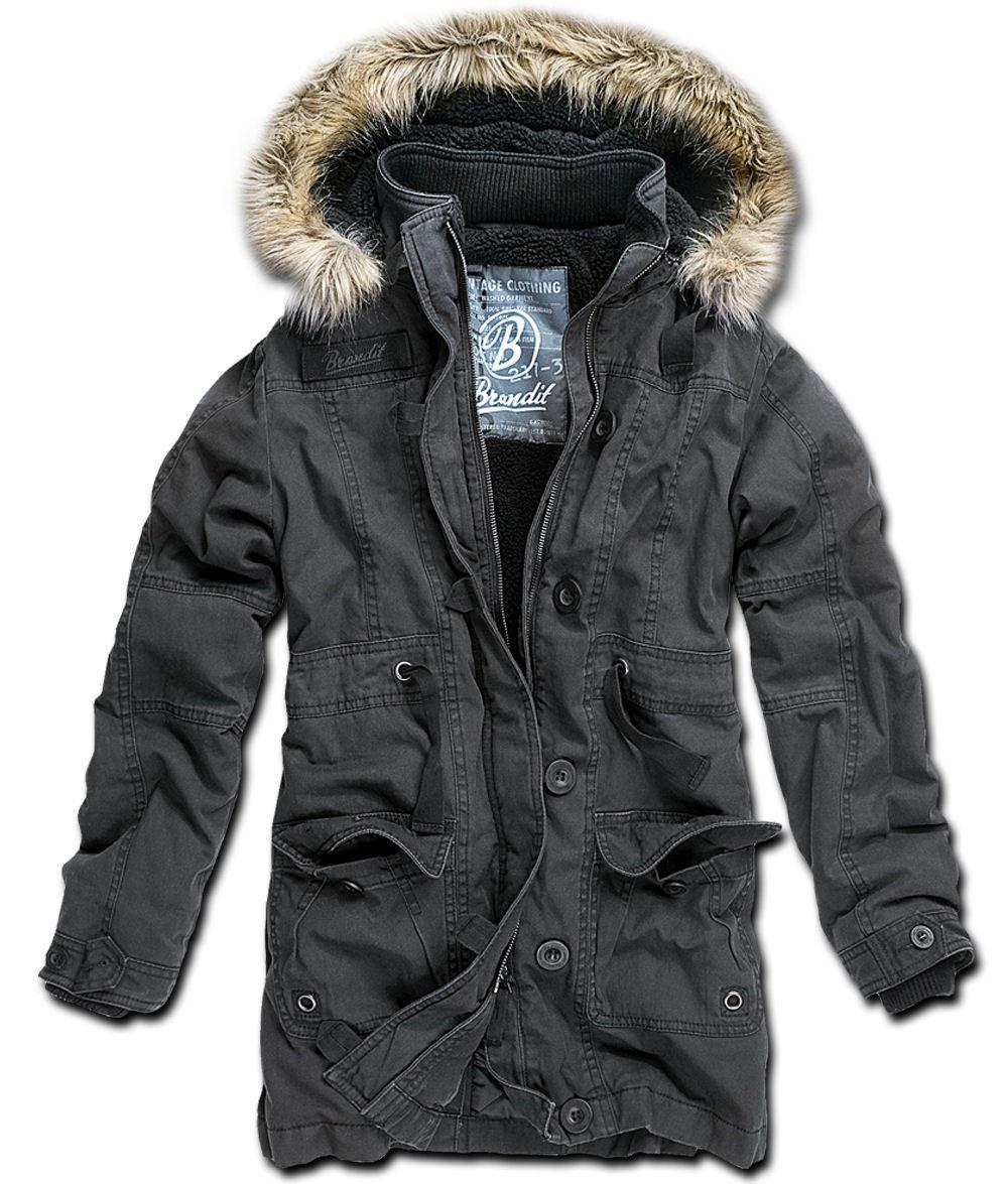 bunda dámská zimní Brandit - Nolita Vintage - Black - 33102/2