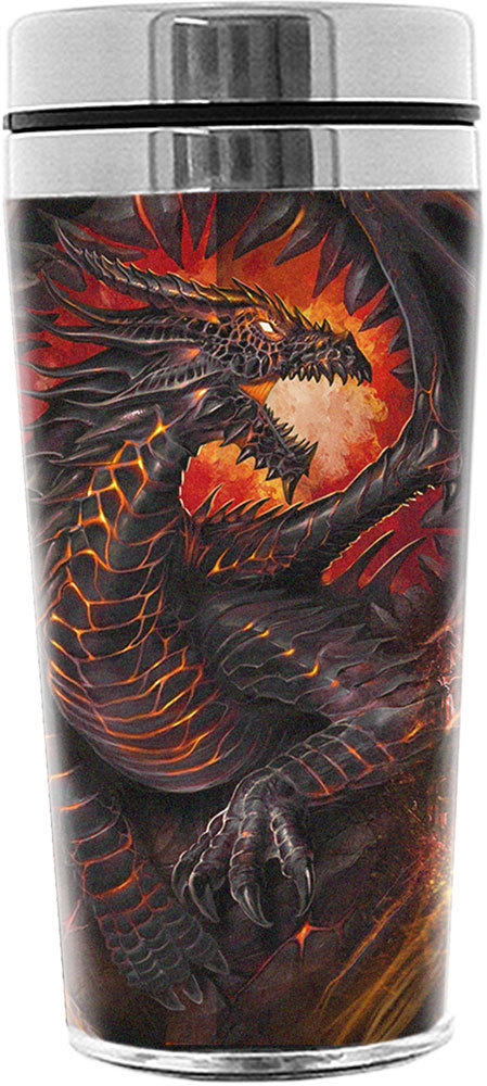 hrnek termo Spiral - Dragon Collage - L019A006