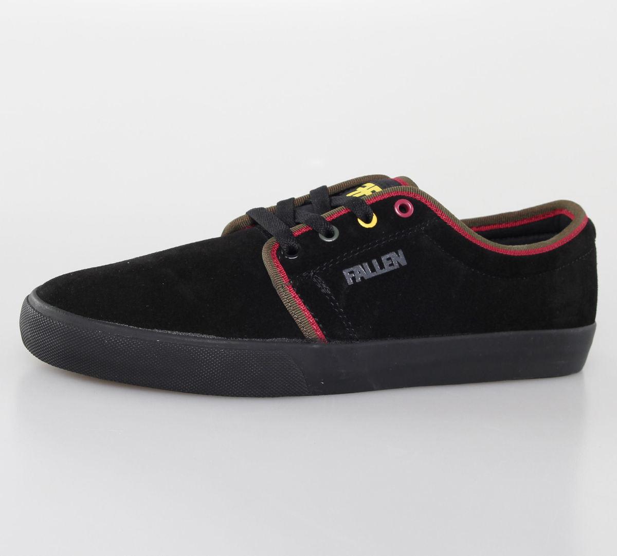 boty pánské FALLEN - Forte 2 - Black/Rasta - 41070093