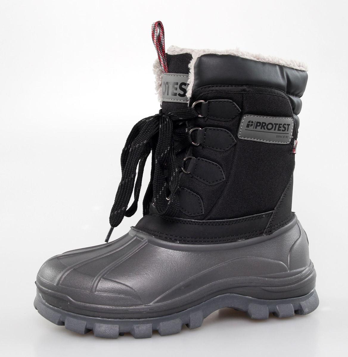 boty zimní PROTEST - Huma - True Black