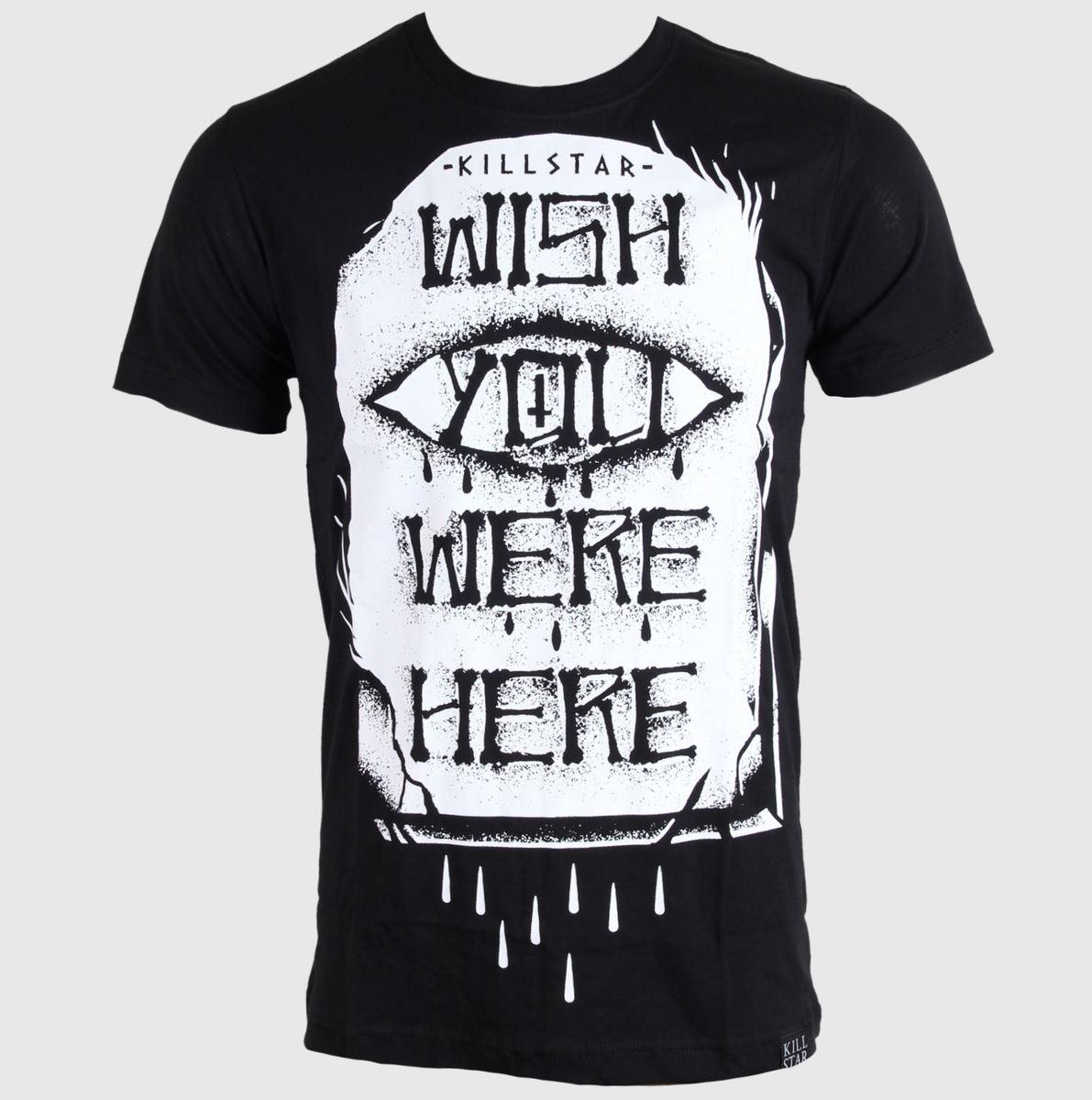 tričko (unisex) KILLSTAR - WYWH - Black