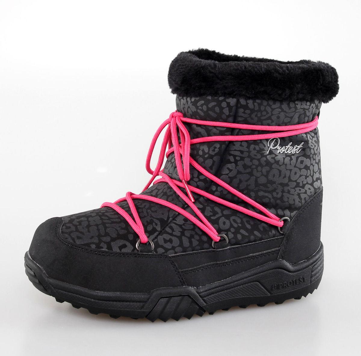 boty dámské zimní PROTEST - GILI - TRUE BLACK