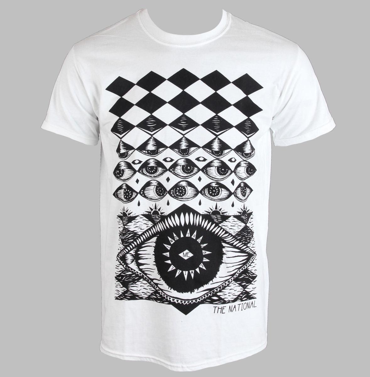 tričko pánské National - Eyeball - PLASTIC HEAD - PH8457