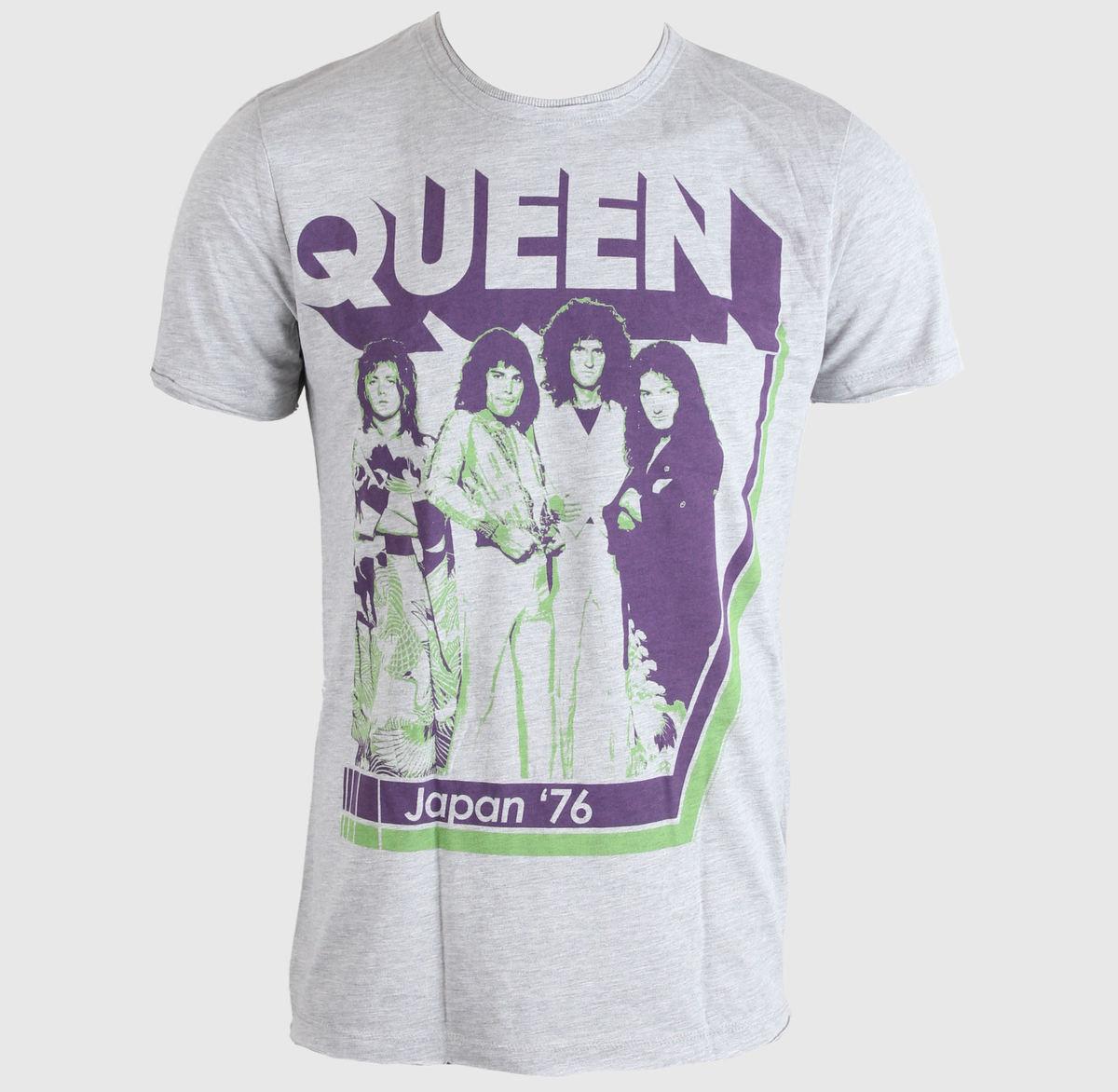 tričko pánské Queen - Japan 76 - AMPLIFIED - Grey - AV210Q76