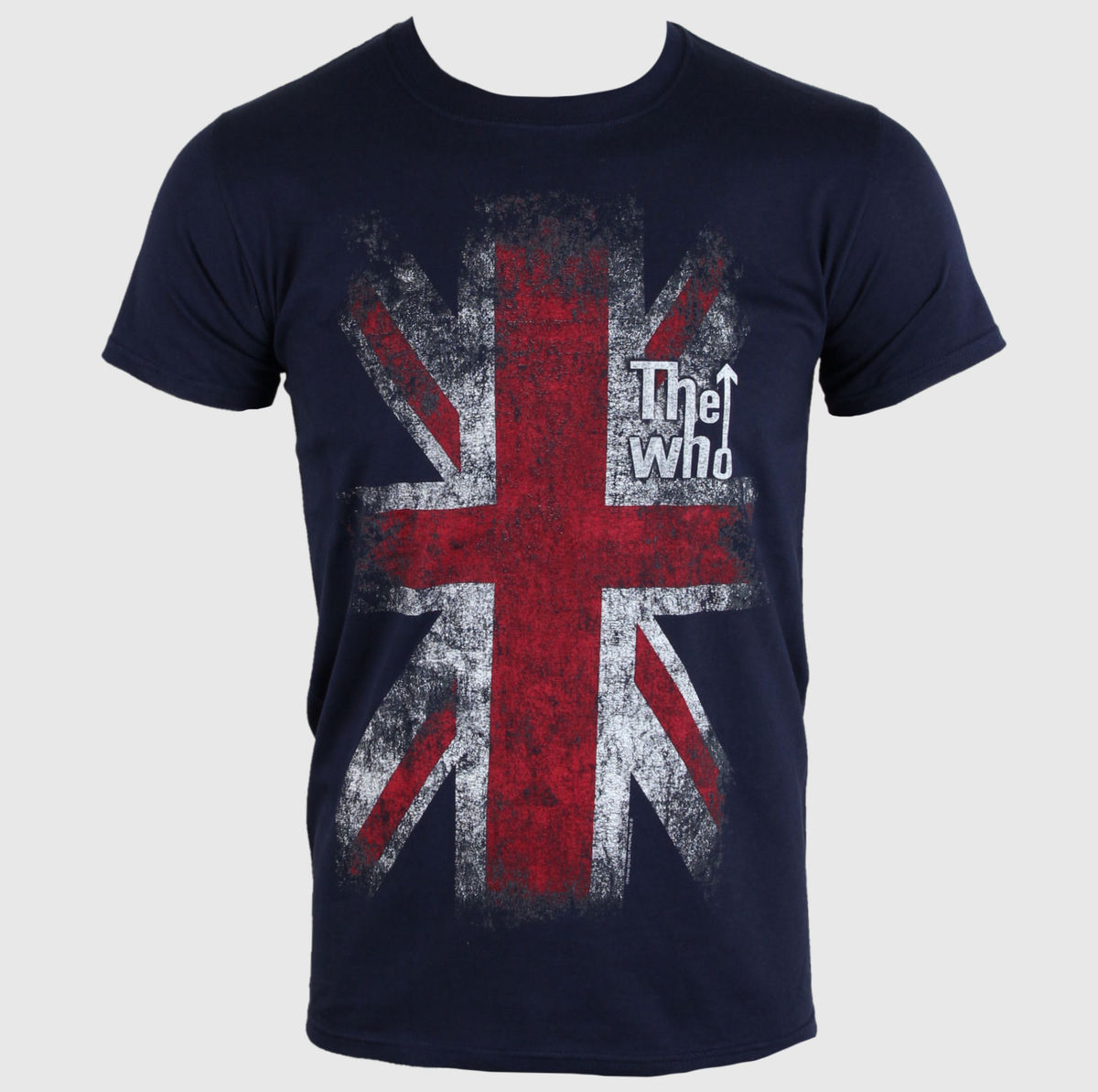 tričko pánské Who - Union Jack - PLASTIC HEAD - PH7641