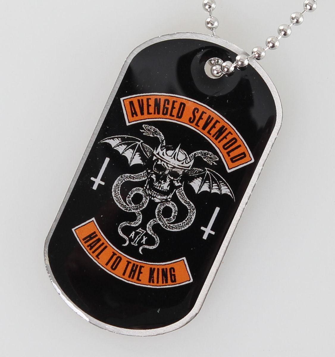 obojek (psí známka) Avenged Sevenfold - Biker - RAZAMATAZ - DT061