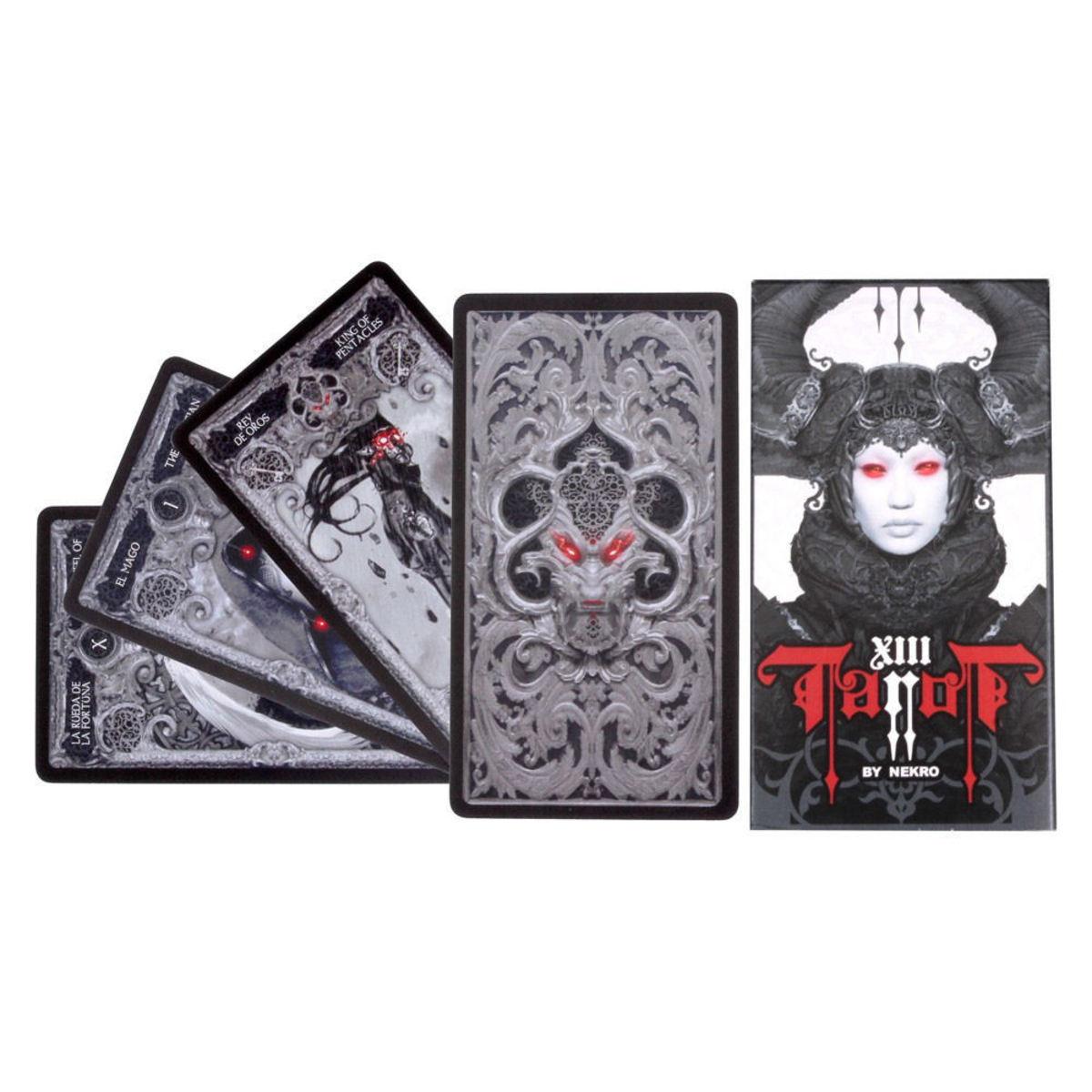 tarotové karty Nekro - 1028794